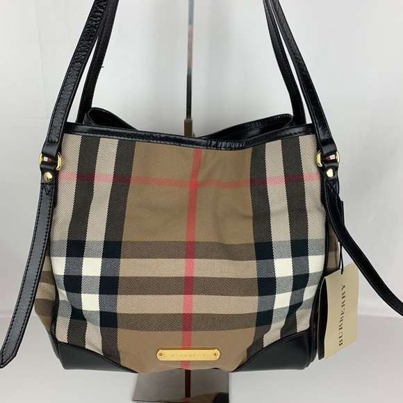 80093c79b97 Burberry Bags | New Bridle House Check Canterbury Tote | Poshmark